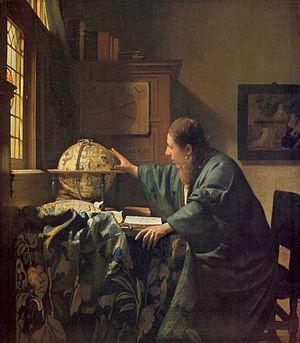 Johannes Vermeer - De astronoom