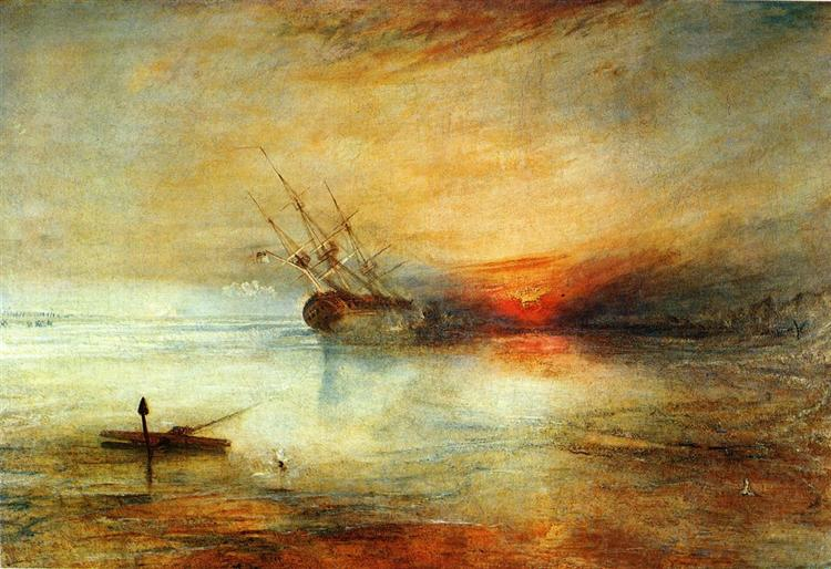 Joseph Mallord William Turner - Fort Vimieux (1831)