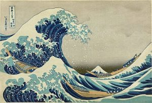 Katsushika Hokusai - The Great Wave Off Kanagawa