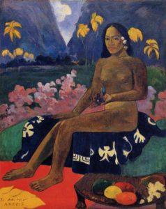 Paul Gauguin - Le Germe des areois / The Seed Of Areoi (1892)