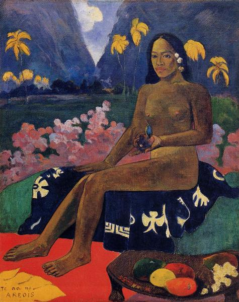 Paul Gauguin - Le Germe des areois / The Seed Of Areoi (1892)