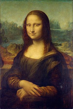 Leonardo Da Vinci - Mona Lisa, Meest beroemde schilderijen ter wereld