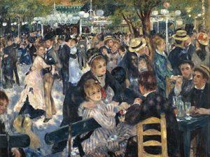 Pierre-Auguste Renoir – Dance At The Moulin De La Galette