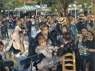 Pierre-Auguste Renoir – Dance At The Moulin De La Galette