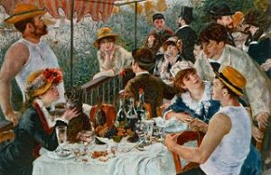 Pierre-Auguste Renoir - Lunch van de roeiers