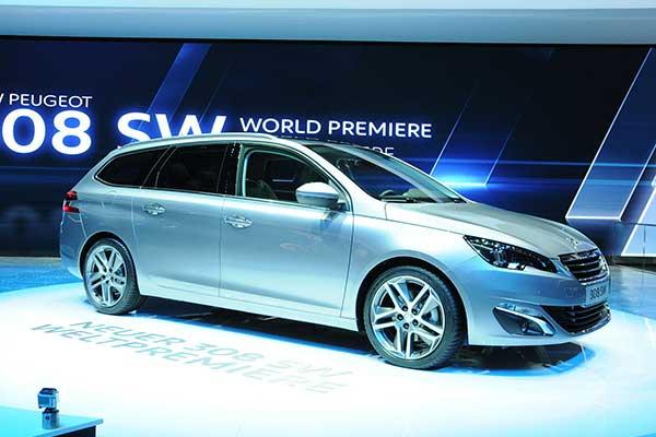 Populairste leaseauto voor mannen is de Peugeot 308 SW