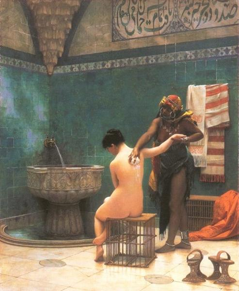 Jean-Léon Gérôme - Le Bain / The Bath (1880 - 1885)