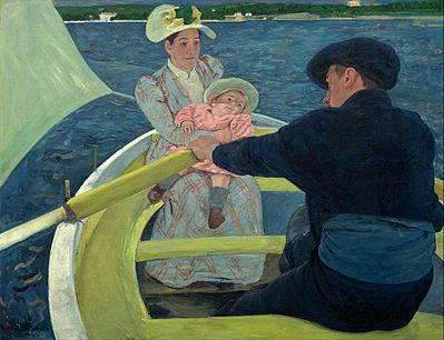 Mary Cassatt - The Boat Trip / Het boottochtje (1893-1894)
