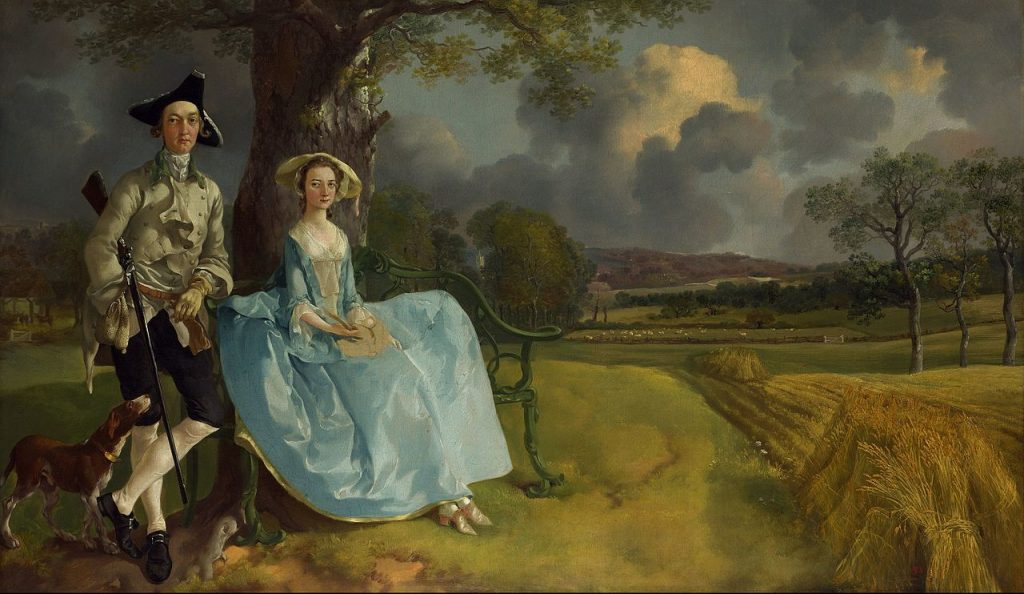 Thomas Gainsborough - Mr And Mrs Robert Andrews