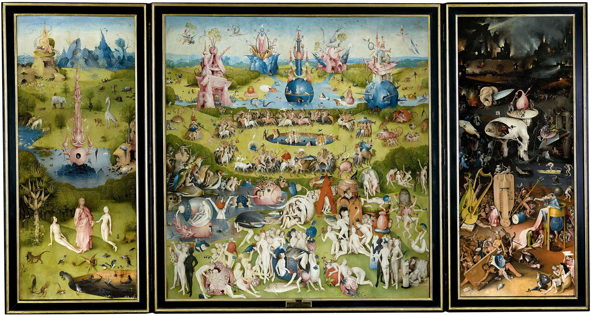 Hieronymus Bosch - Tuin der lusten / The Garden Of Earthly Delights (1480-1490)