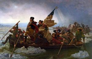 Emanuel Gottlieb Leutze - Washington Crossing The Delaware (1850 - 1851)