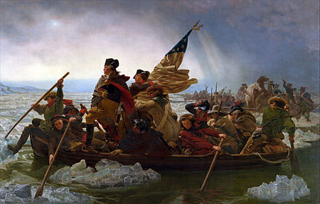 Emanuel Gottlieb Leutze - Washington Crossing The Delaware (1850 - 1851)