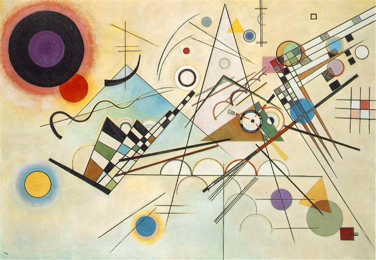 Wassily Kandinsky - Composition VIII (1923)