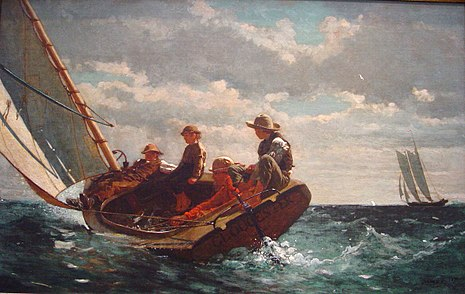 Winslow Homer – Breezing Up
