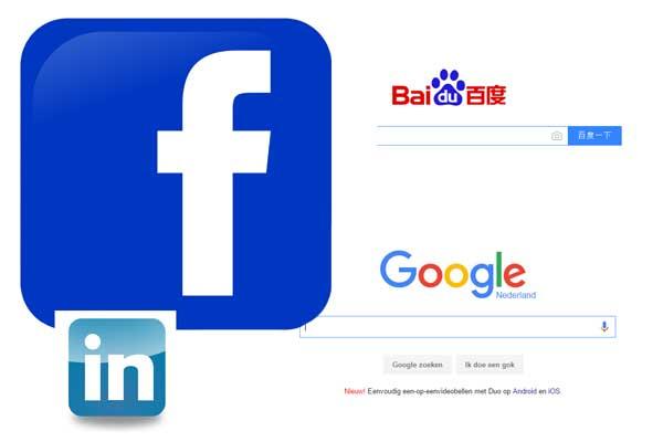 Favoriete kleur op internet is blauw