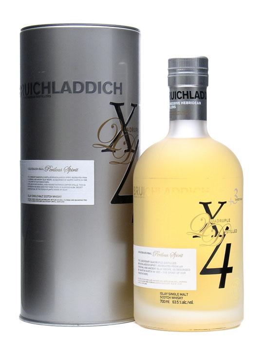Bruichladdich X4 Quadrupled