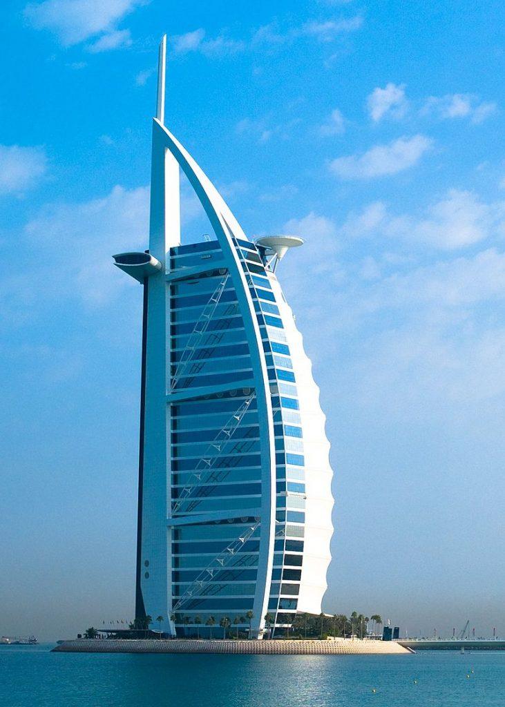 "Burj Al Arab ""Dubai's seven star hotel"""