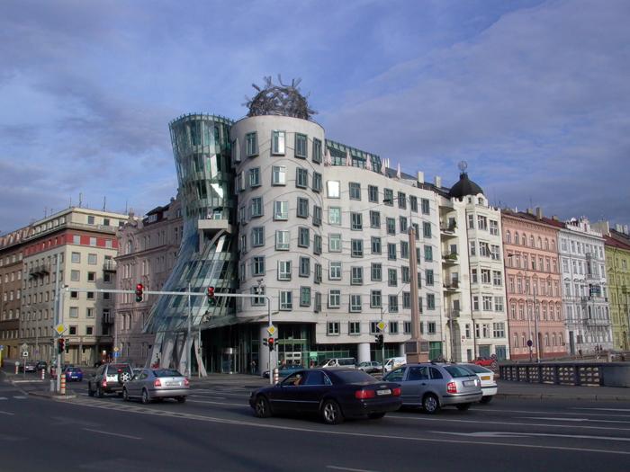 Dansende huis in Praag