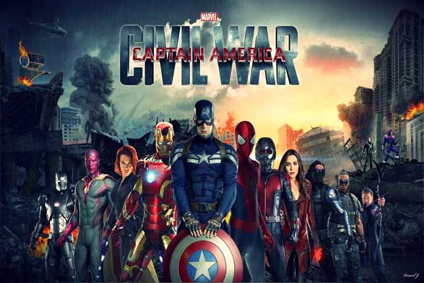Best verdienende film van 2016 is Captain America: Civil War (top 10)