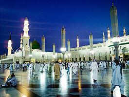 Al-Masjid al-Nabawi, Medina, Saoedi-Arabië