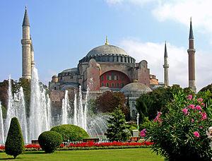 Aya Sofya Moskee of Hagia Sophia, Turkije