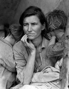 Dorothea Lange: Migrant Mother, 1936