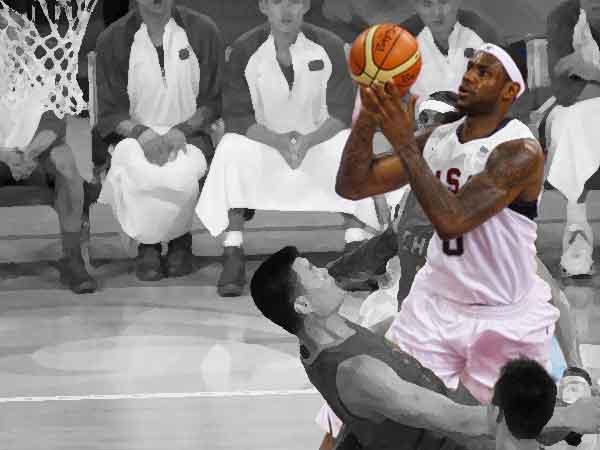 Beste betaalde basketballer ter wereld 2017 is LeBron James van de Cleveland Cavaliers