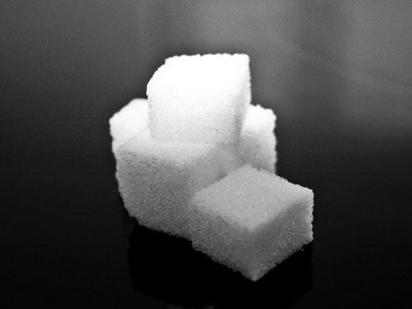Eten en drinken in suikerklontjes (een lijst van meer dan 50 producten)