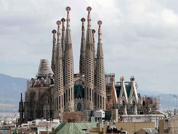De Sagrada Familia in Barcelona