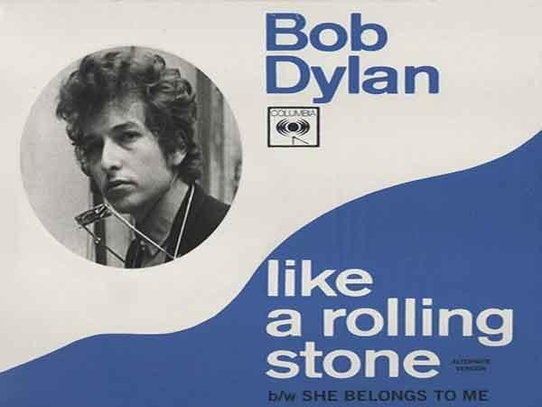 Top 500 beste muziek aller tijden volgens Rolling Stone magazine – Dylan, 'Like a Rolling Stone' op 1