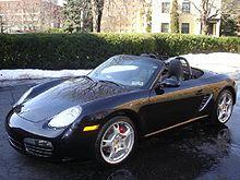 Porsche Boxster uit 2005