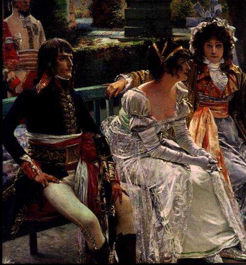 Het huwelijk van Napoleon en Joséphine