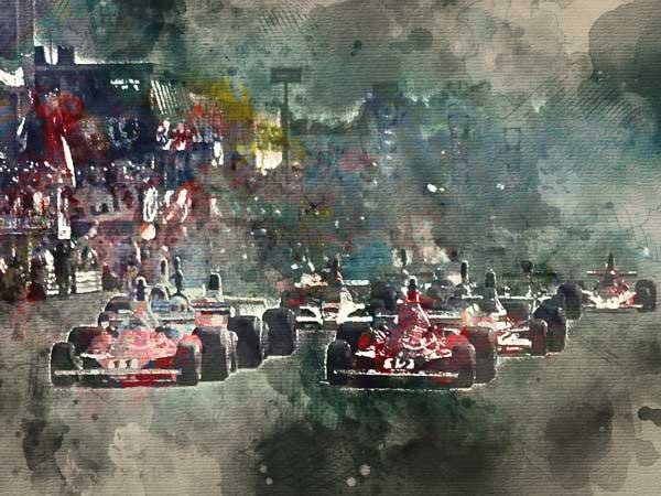 Snelste Formule 1 circuit  is Monza, met 250 km/h (de top 10)
