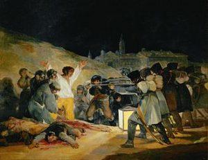 Goya - El tres de mayo de 1808 en Madrid - Goya - 1814