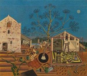 La masia -Joan Miro 1921/1922