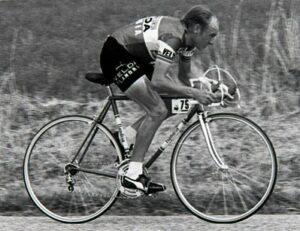 Michel Pollentier in de Ronde van Frankrijk 1976