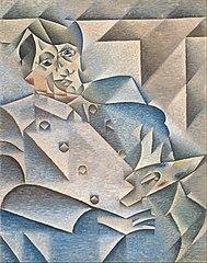 Portret van Pablo Picasso - Retrato de Picasso - 1921