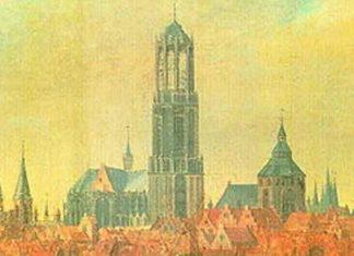 Hoogste kerktoren in Nederland is De Domtoren met 112 meter in Utrecht