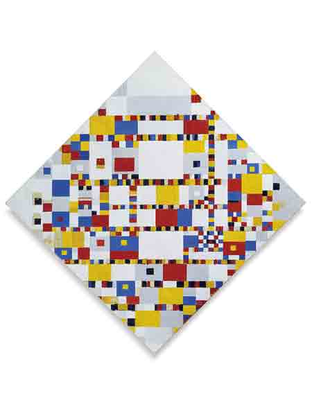 Mondriaan, Victory Boogie Woogie, het Gemeentemuseum Den Haag