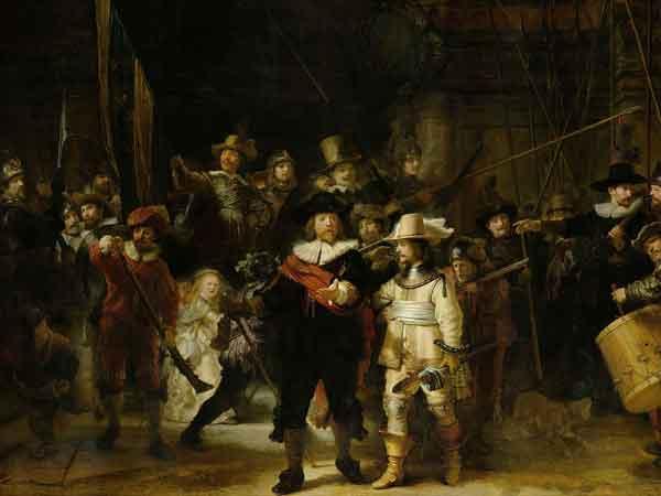 Bekendste Nederlandse schilder is Rembrandt - De Top 10 wereldwijd