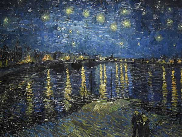 Vincent van Gogh, Sterrennacht boven de Rhône, 1888, Musée d'Orsay