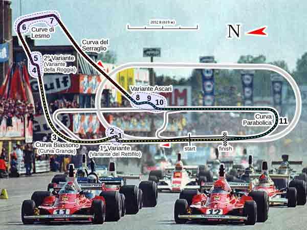 Alle winnaars Formule 1 Grand Prix van Italië sinds 1950