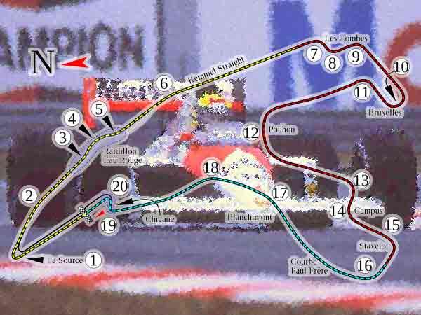 Alle winnaars Grand Prix Formule 1 België sinds 1950