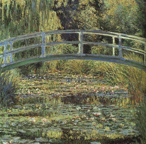 Claude Monet - De Japanse brug en de waterlelies, 1899, National Gallery