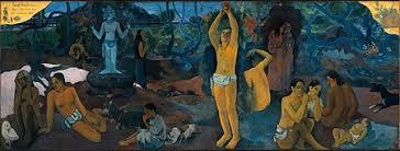 Beroemdste Franse schilders: Paul Gauguin - D'où venons-nous, Que sommes-nous? Où allons-nous?