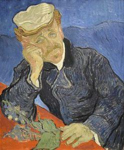 Portret van Dr Gachet - Vincent van Gogh