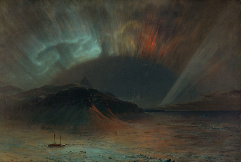 Frederic Edwin Church - Aurora Borealis (1865)