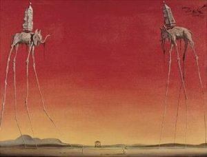 De Olifanten - Salvador Dali