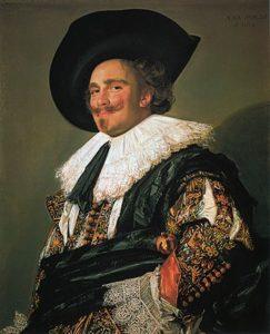 De lachende cavalier - Frans Hals