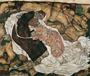 Dood en het meisje - Egon Schiele